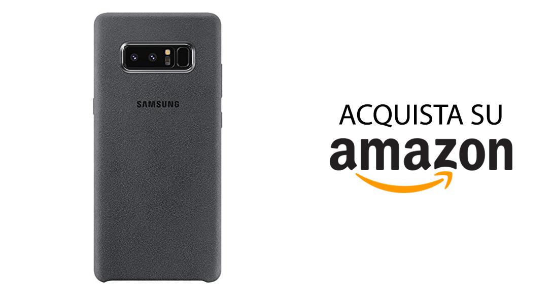 Samsung Galaxy Note 8 Cover Alcantara Originale Amazon