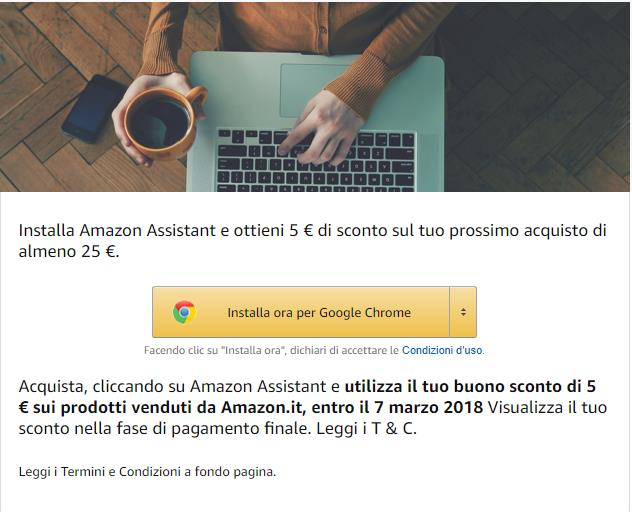 Buono Amazon Gratis