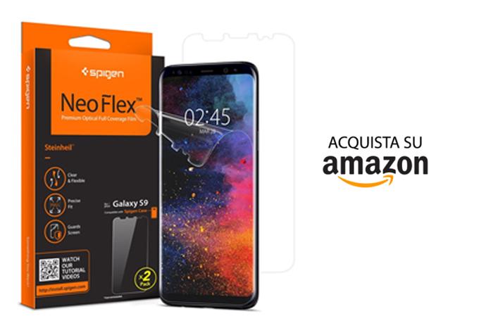 Pellicola Spigen Neo Flex Samsung Galaxy S9