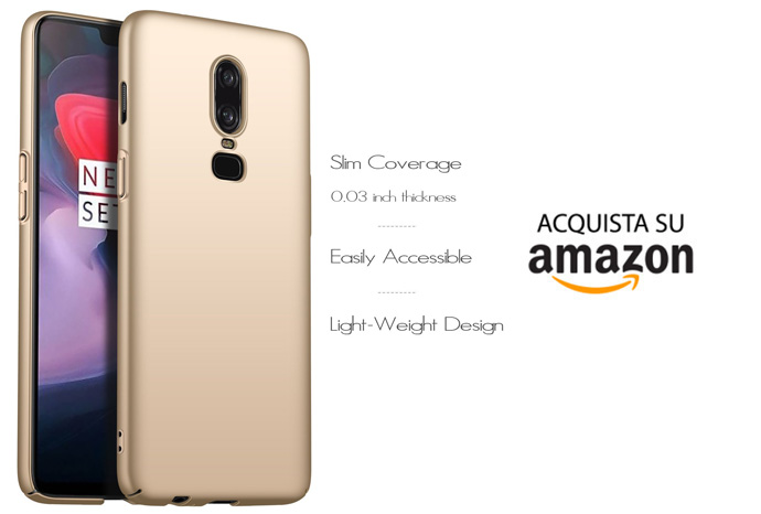 Cover OnePlus 6 Anccer Oro