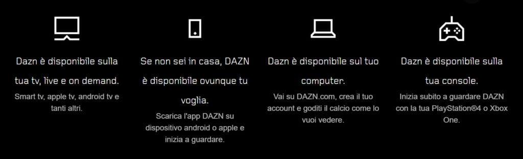 come vedere dazn gratis su più dispositivi