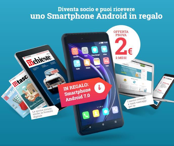 Come richiedere lo smartphone a 2€ di Altroconsumo - GUIDA