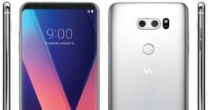LG V30 Anteriore