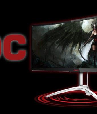 AOC AG352QCX Monitor Gaming Recensione