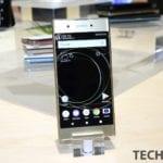 Sony XPeria XZ1 Front