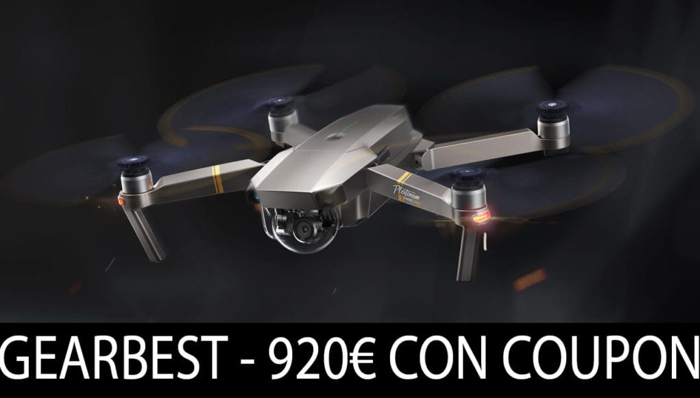 DJI Mavic Pro Platinum Coupon Gearbest