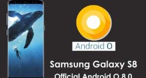 Android 8.0 Oreo Galaxy S8 e Galaxy S8+