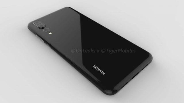 Huawei P20 Plus 3 Render
