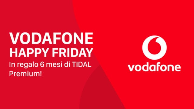 Vodafone Happy Friday Tidal