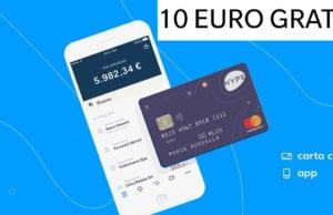 Carta Hype 10 Euro Gratis