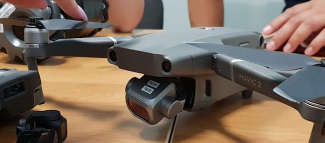 Drone DJI Mavic Pro 2 Leak