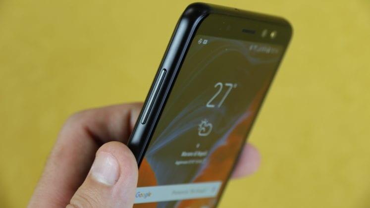 Galaxy A8 2018 - Lato bilanciere volume