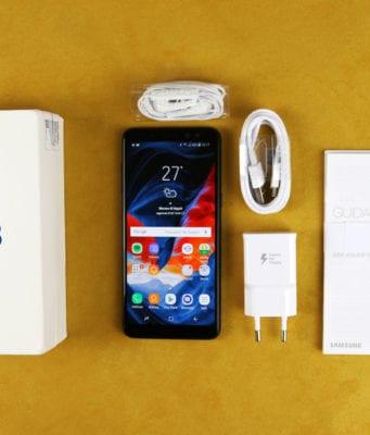 Samsung Galaxy A8 2018 Recensione - Confezione
