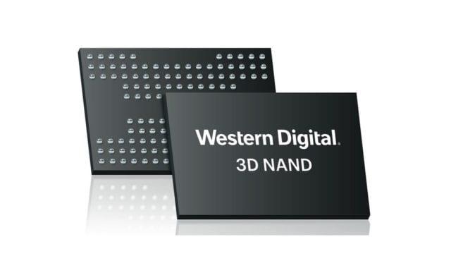 Memoria NAND 3D Western Digital