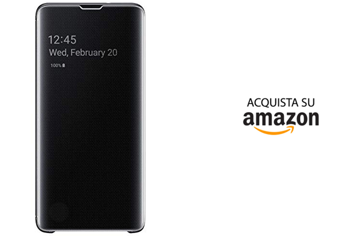 Cover Samsung Galaxy S10 Originale Clear View
