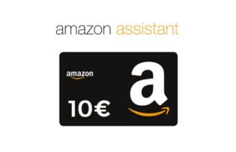 Amazon Assistant Buono Omaggio 10 euro