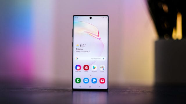 Samsung Galaxy Note 10 Plus Pellicola