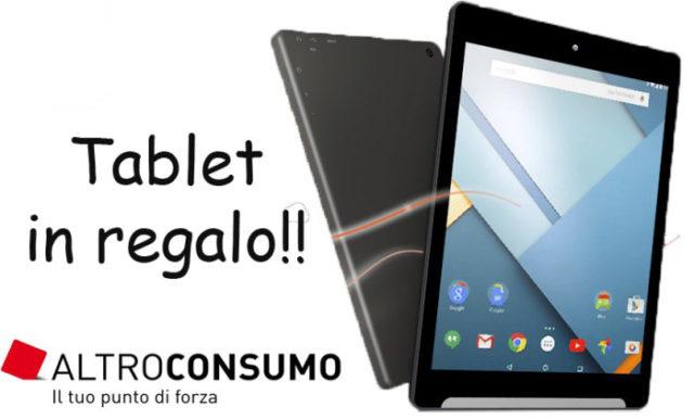 Altroconsumo Tablet Omaggio