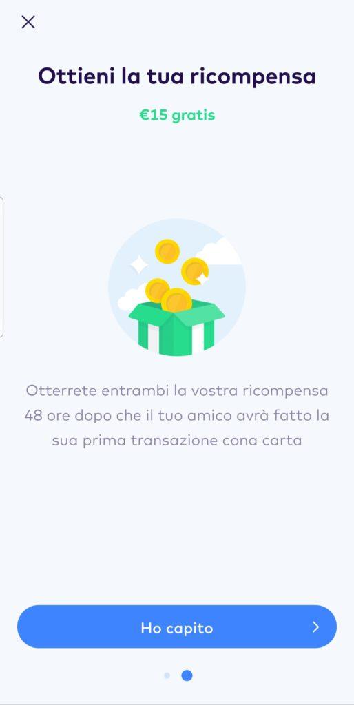 Monese Bonus Invito