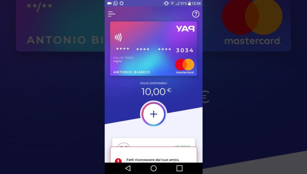 YAP Promo 10 Euro