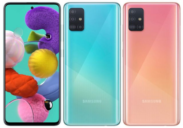 Samsung Galaxy A51 Cover