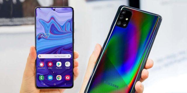 Samsung Galaxy A51 Fronte e Retro