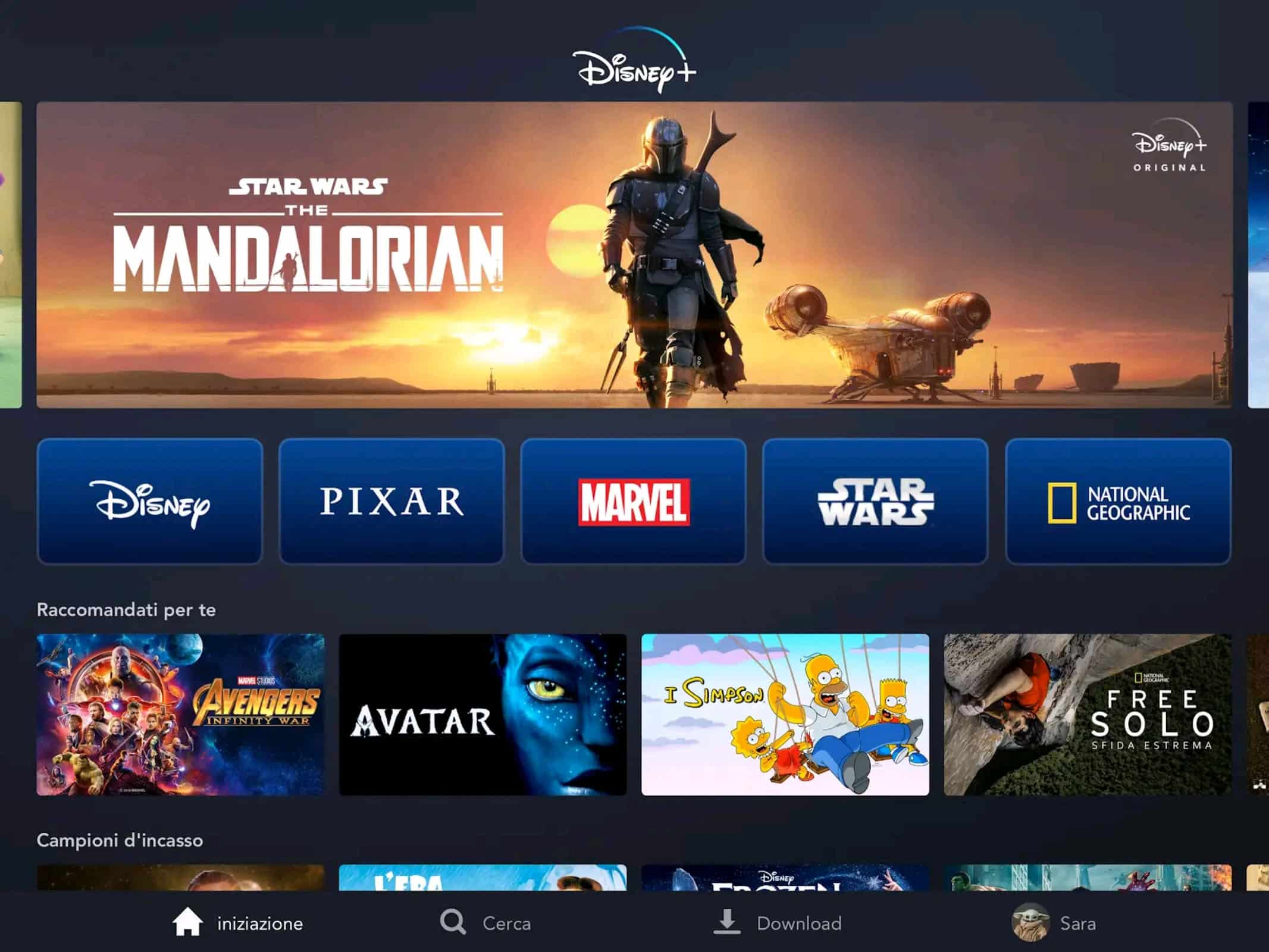 Disney Plus The Mandalorian Canali