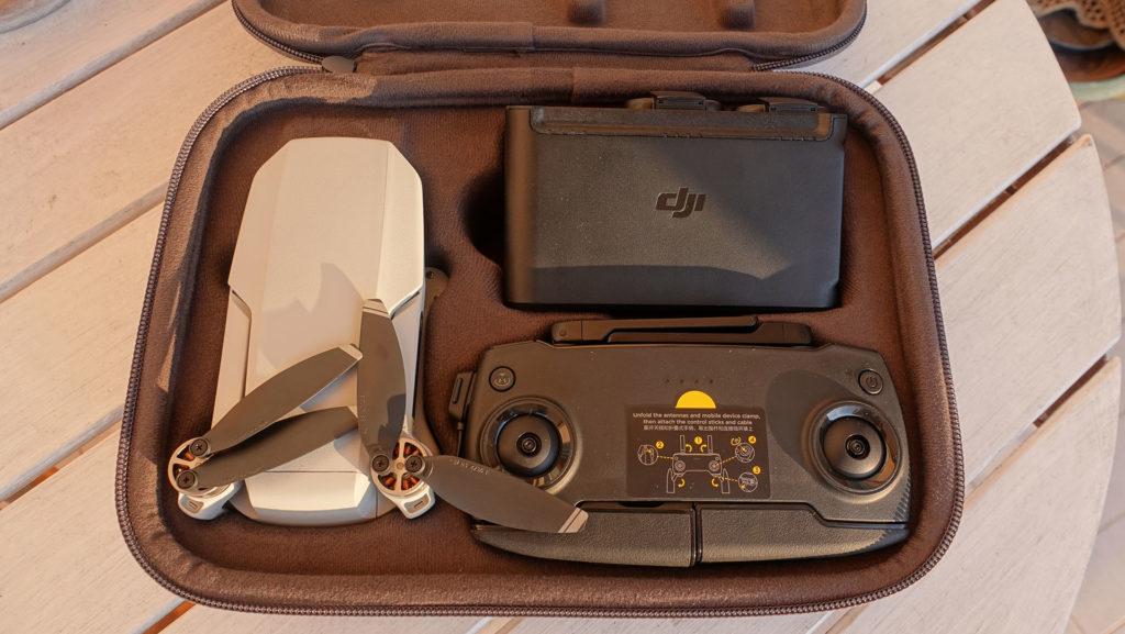 Kit Combo DJI Mavic Mini Drone Radiocomando Caricatore Multiplo