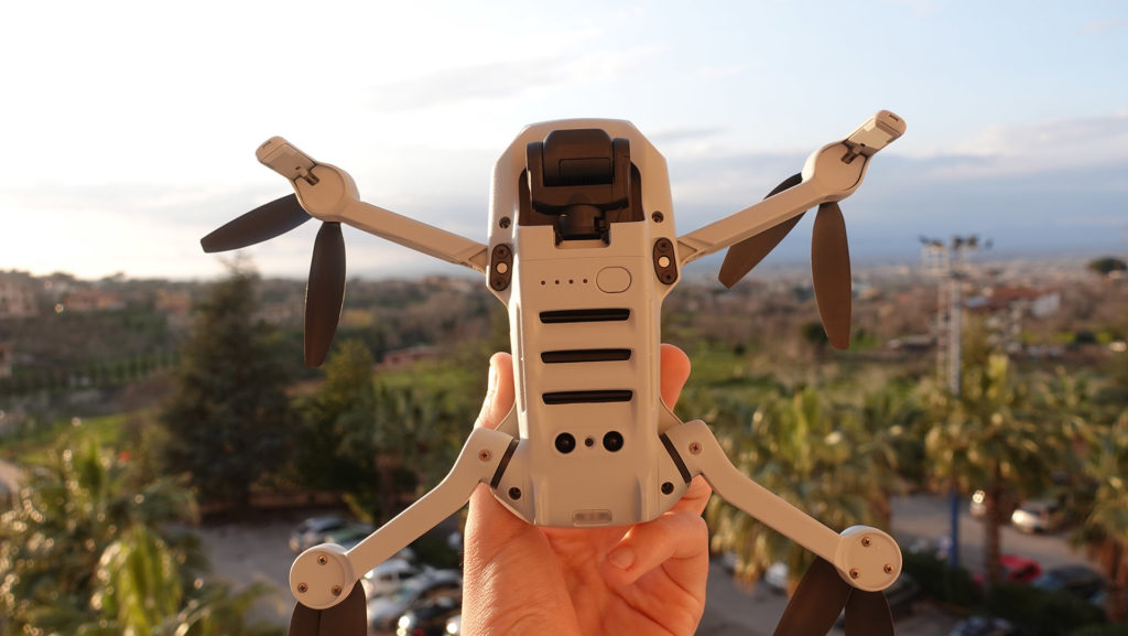 Parte Inferiore DJI Mavic Mini