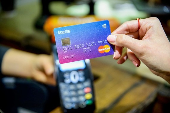 Pagamento Contactless Revolut