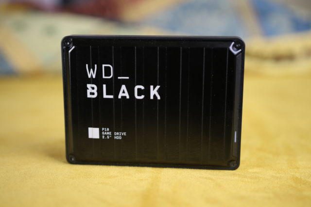 WD Black P10 4 TB Front