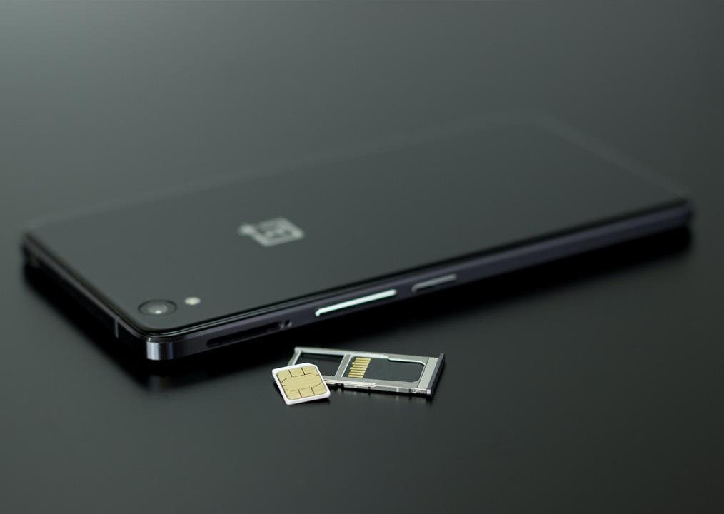Micro SD e SIM di Smartphone OnePlus