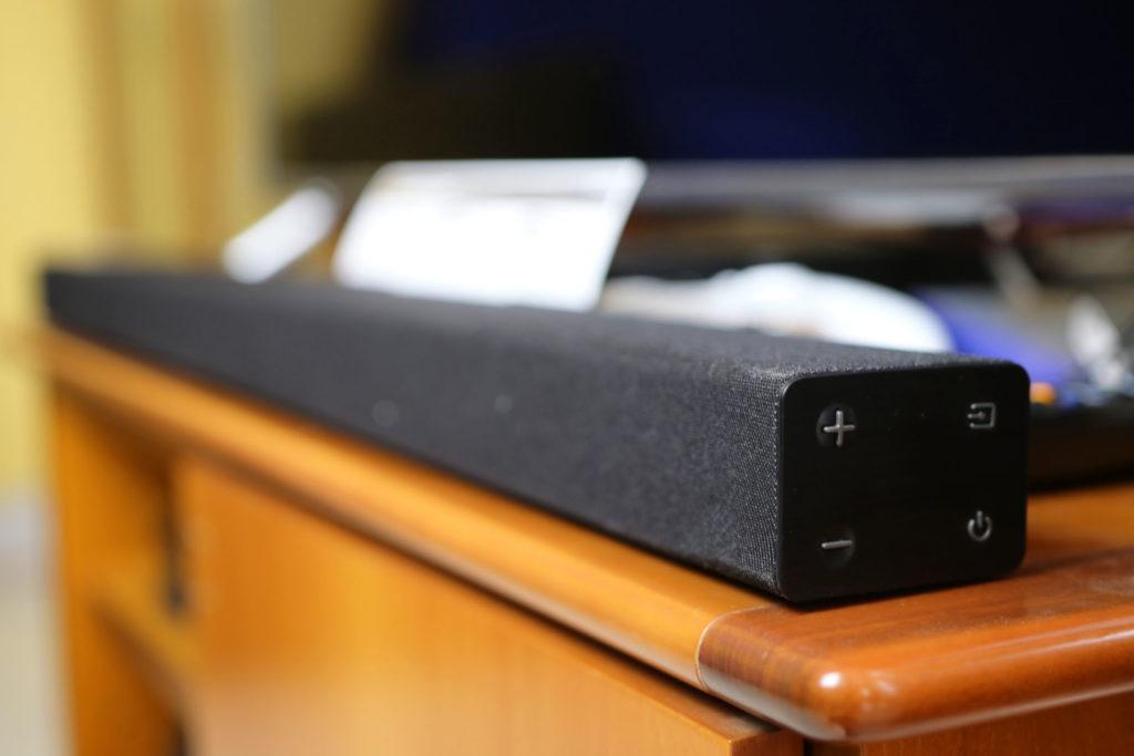 Samsung R430 Soundbar Laterale