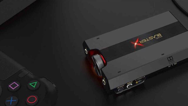 Sound BlasterX G6 Scheda Audio