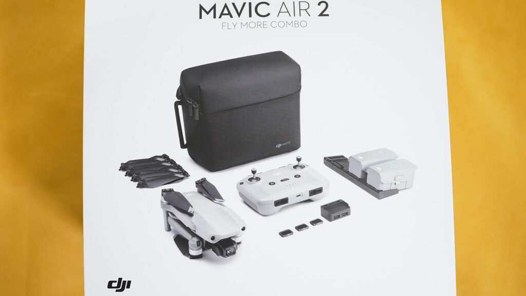 DJI Mavic Air 2 Fly More Combo Confezione