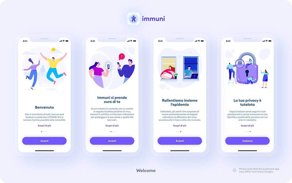 Immuni App Come Funziona Benvenuto