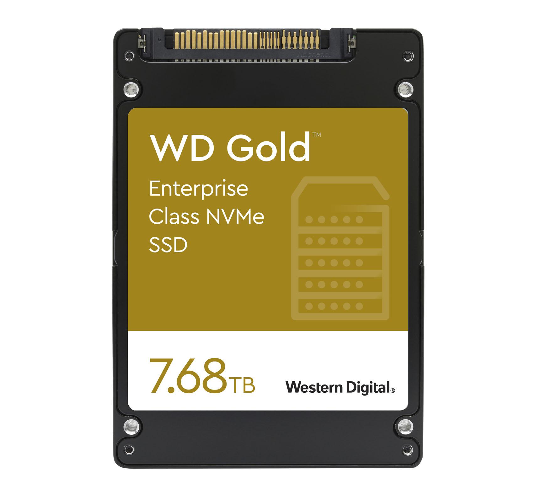 SSD WD Gold NVMe 7.68 TB Western Digital
