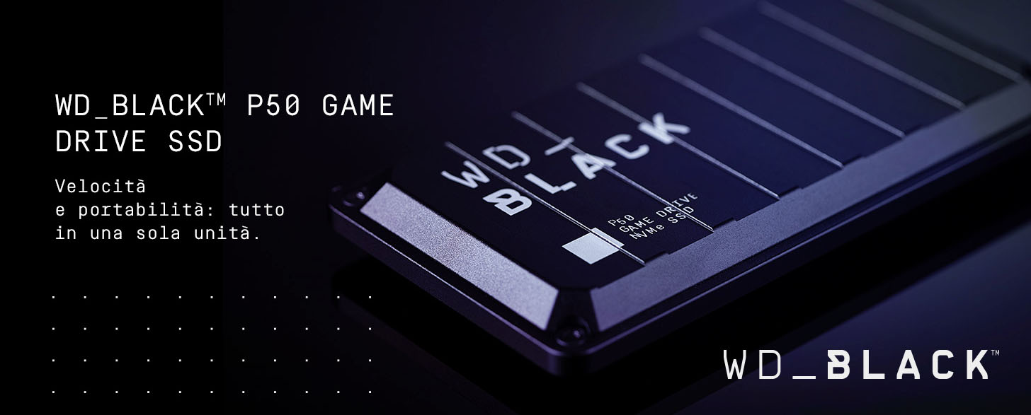 WD Black P50 SSD Game Drive Xbox One PC
