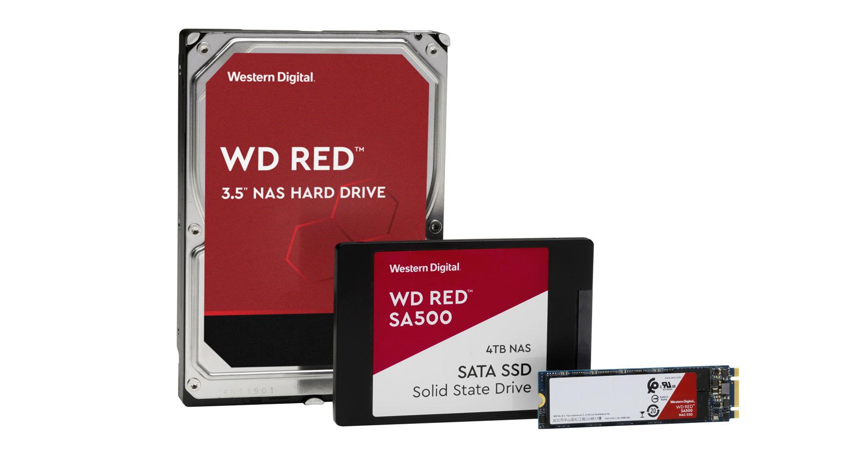 WD Red Pro HD SSD NAS Western Digital