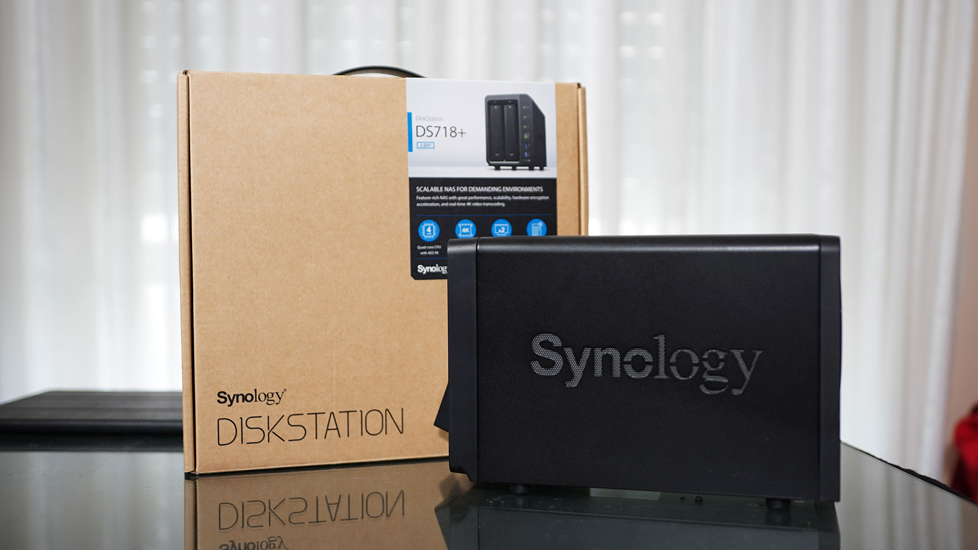 NAS Synology DS718+ Confezione