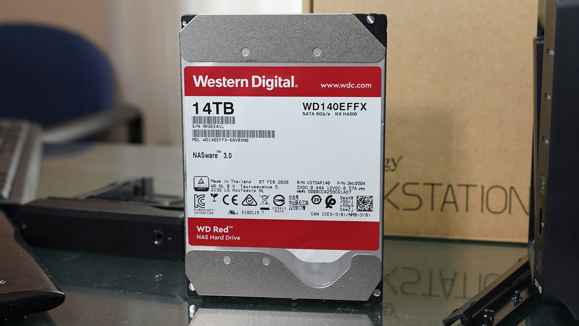 "Hard Disk NAS 3.5"" WD Red 14 TB"