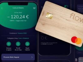 Flowe Carta Legno Mastercard Debit