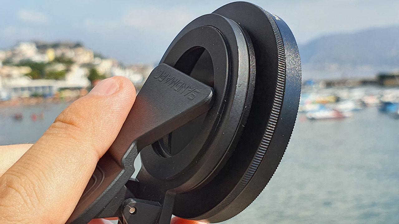 Sandmarc Hybrid Filters Sistema Aggancio