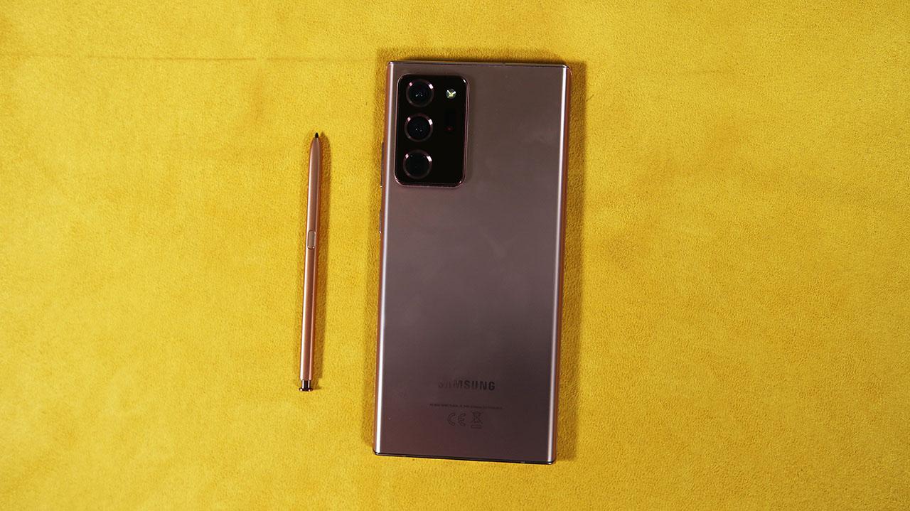Galaxy Note 20 Ultra 5G Posteriore Fotocamera Pennino S-Pen