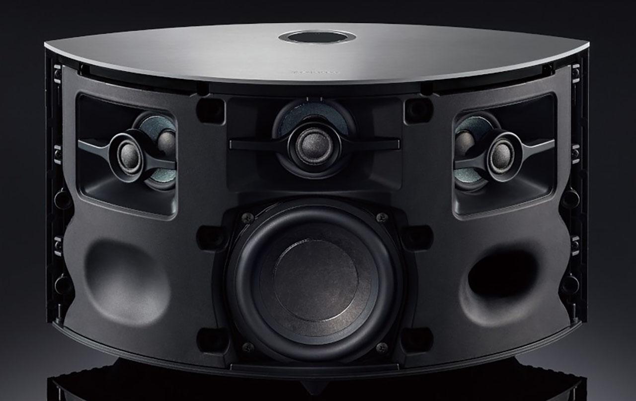 Technics Ottava S SC-C50 Struttura Speaker