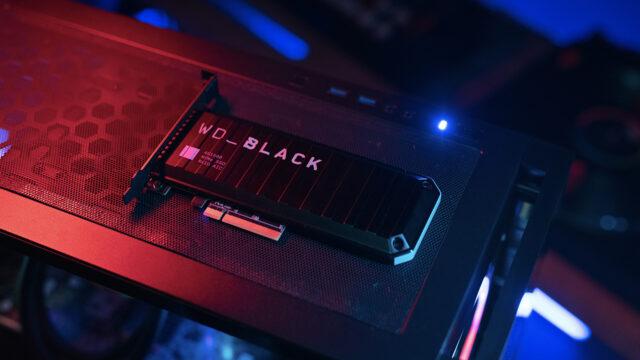 WD Black AN1500 NVMe SSD