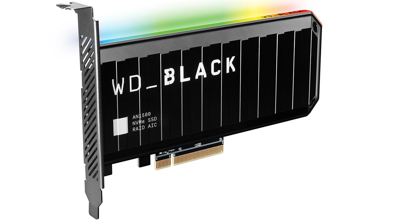 WD Black AN1500 SSD NVMe PCIe Gen3