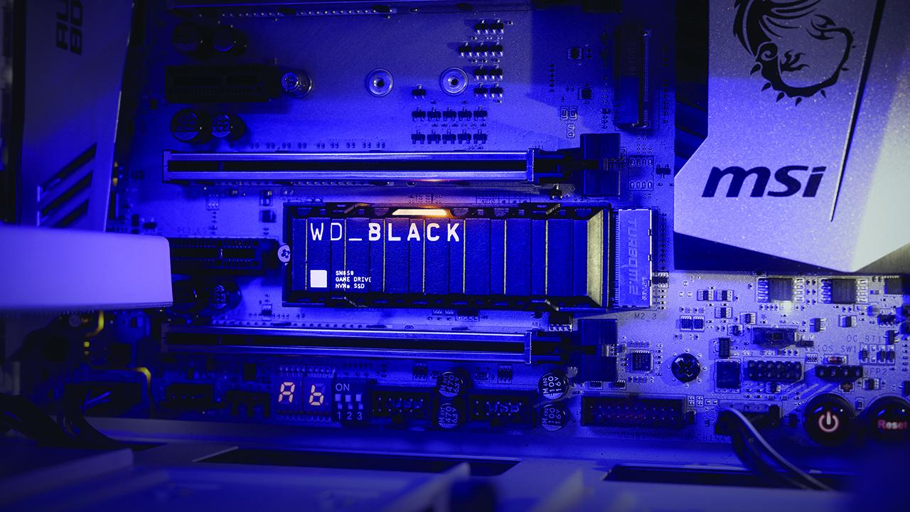 WD Black SN850 SSD NVMe