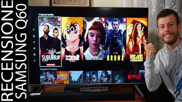 Recensione Samsung Q60T Q64T 2020 4K HDR QLED Smart TV
