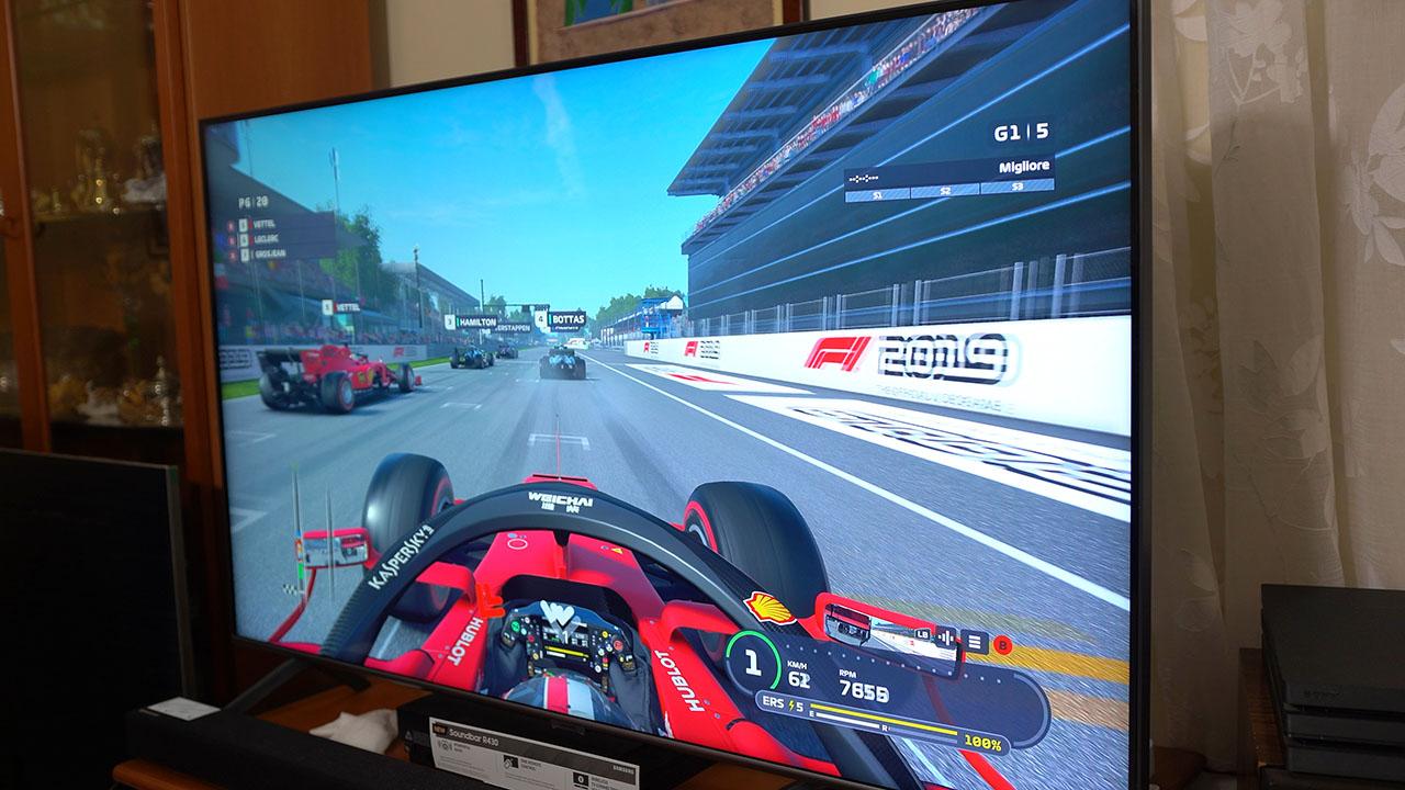 Samsung Q60T 2020 TV QLED 4K HDR F1 Modalità Gioco